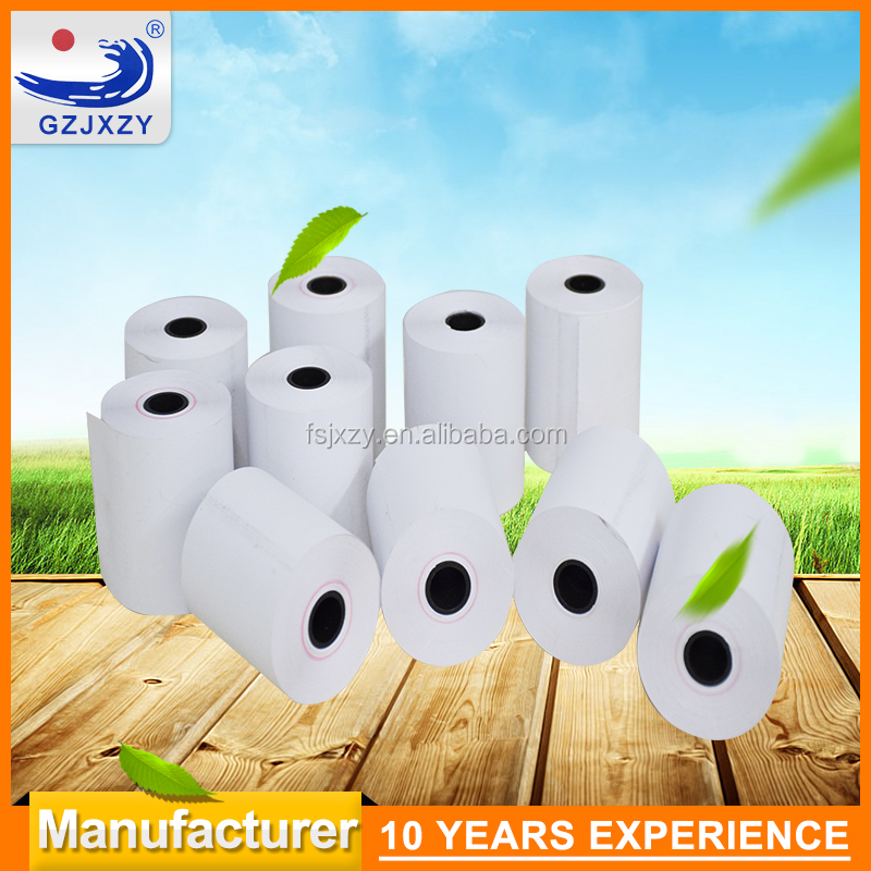 paper rolls cash register 65g 58g 48g 55g thermal paper roll blank POS paper roll and customized printing 10 years manufacturer