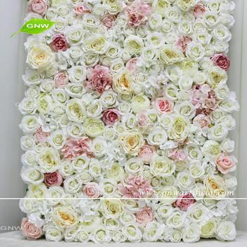Gnw Flw1705001 Q Artificial De La Flor De Pared Con Flor De Seda