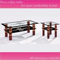 Design glass sofa table T005