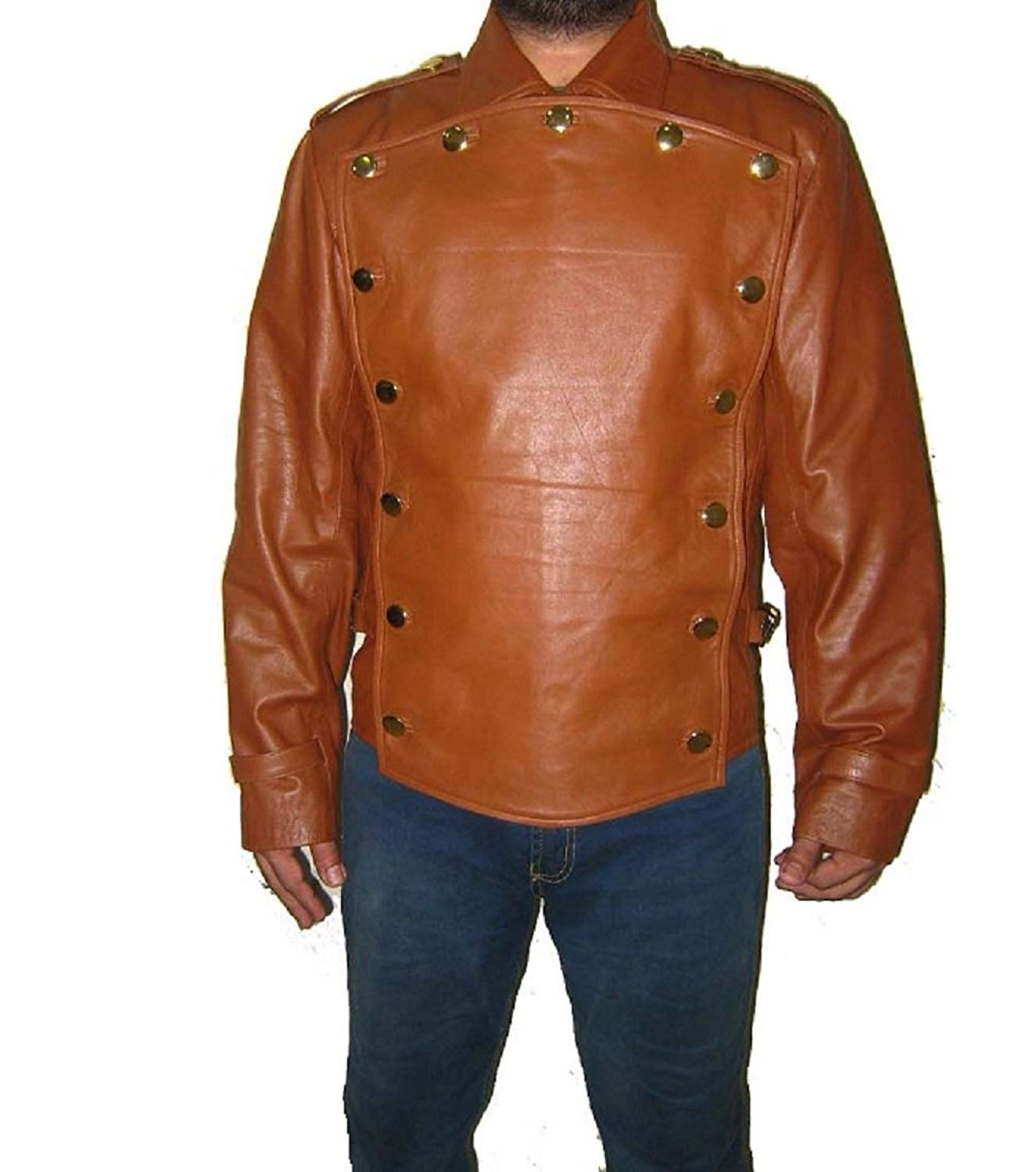 SouthBeachLeather The Rocketeer Billy Campbell Brown Leather Jacket