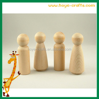 Let Your Imagination Run Wild With This 50 Piece Set Of Unfinished Wooden Peg Doll Bos Five Diffe Designs To Choose From You Ll Be Able