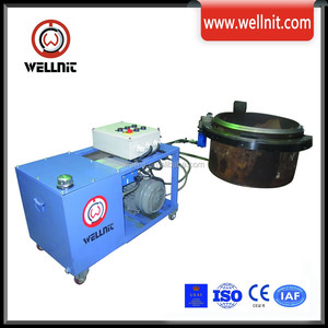 Hydraulic Machine For Pipe Shearing And Chamfering