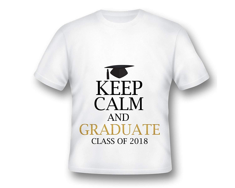 44ff504e884d Get Quotations · Keep Calm and Graduate Tee shirt