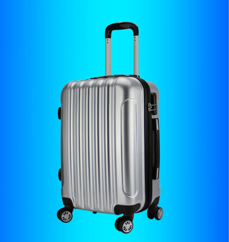 """20/"""" 24/"""" 28/"""" valises rigides lot 4 roues bagages spinner léger-rose"""