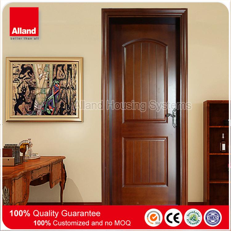 Design classique chambre int rieur teck massif porte en bois pour la construction de maisons - Porte en bois pour chambre ...