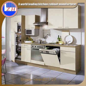 Zhihua Customize High Gloss Modular Kitchen Designs Small Kitchen