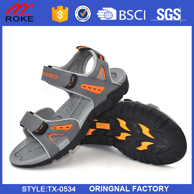 Comfortable wear-resisting sport sandals custom brand men sandal shoes