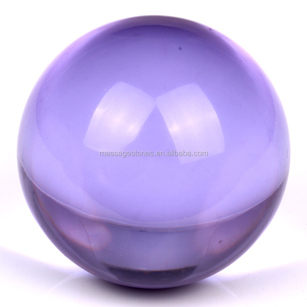 figurine dragon shui ball glass office decorative storm product decor feng crystal balls