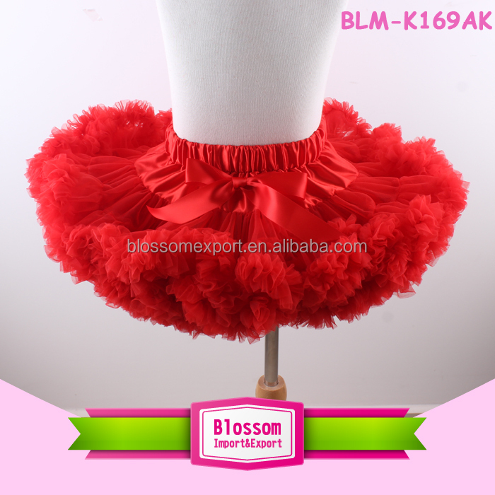 2016 wholesale newborn baby clothes super fluffy pettiskirts chiffon pettiskirts tutu girls pettiskirts