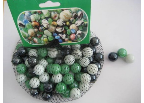 China Colorful Round Solid Large Glass Marbles For Sale