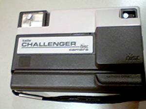 Eastman Kodak Company Eastman Kodak A Disc Camera Kodak Tele Challenger Disc Camera (Requires Disc Wheel Film)