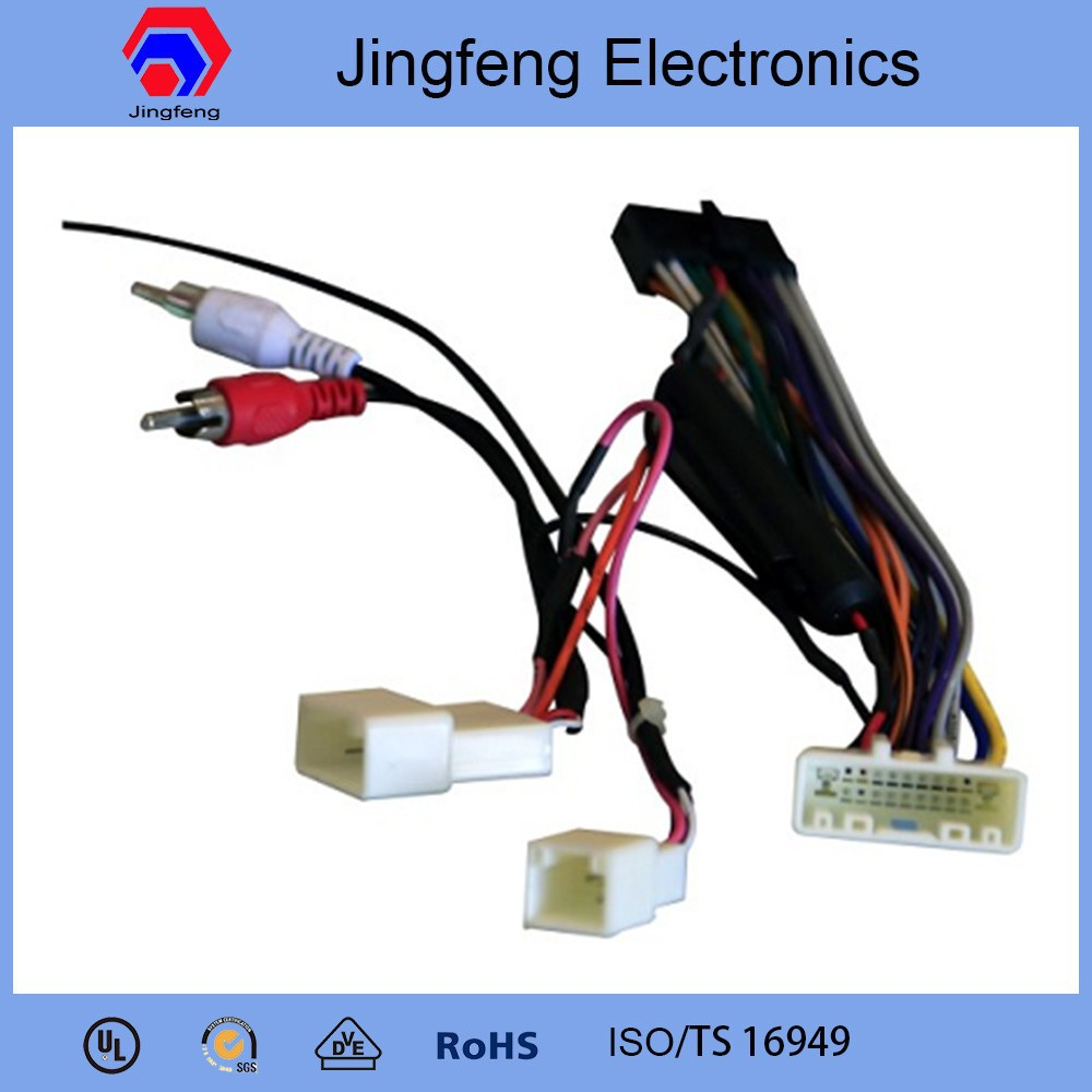 car stereo wiring harness for SUBARU Forester