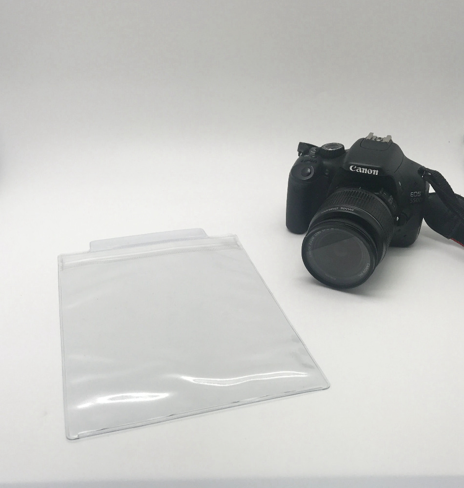Good quality 0.3mm thickness clear pvc ziplock bag