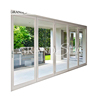 Guangzhou factory partition french style aluminum folding accordion door for balcony