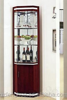 Floor Standing Wine Glass Display Cabinet