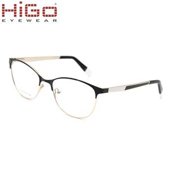 cc37140ab8 NEW BLACK FRAME Retro Vintage Fashion CLEAR LENS EYE GLASSES Metal Optical  Frame