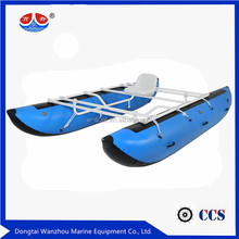 River Inflatable Cataraft Pontoon Boat Rafting boat
