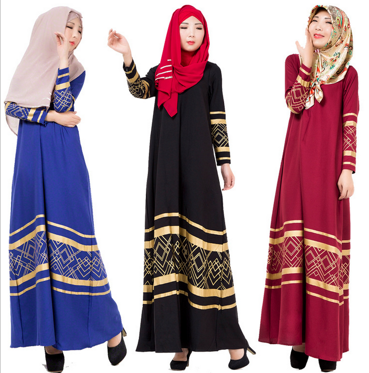 X80575A kaftan DUBAI/FANCY KAFTAN abaya Ladies Wholesale Women Maxi Muslim Dress Muslim dresses