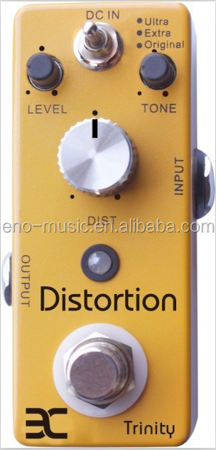 ENO TC-12 Trinity distortion True bypass Design tuner Stomp box Guitar mini effect pedal Stompbox