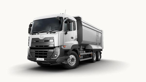 6x4 Heavy Nissan Diesel Dump Truck With Hydraulic Hoist