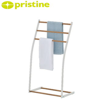 Wood Grain Bathroom Towel Rack Stand View Standing Racks Pristine Product Details From Huei Tyng Enterprise Co Ltd On Alibaba