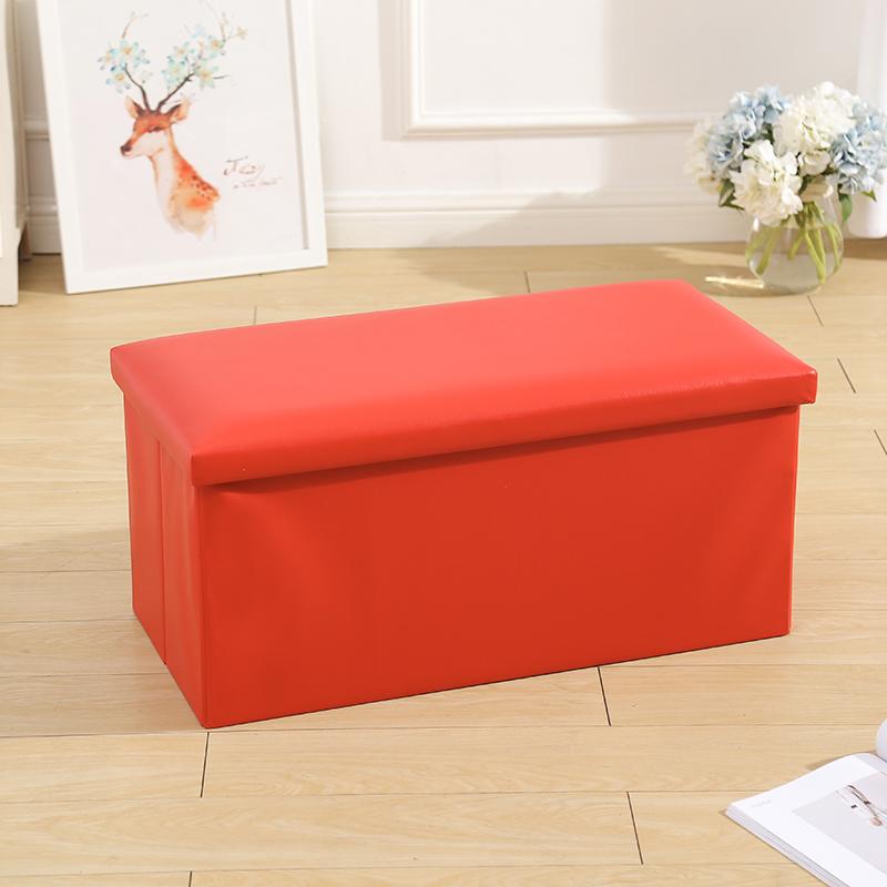 Doble asiento plegable otomana de almacenamiento Banco 30 \
