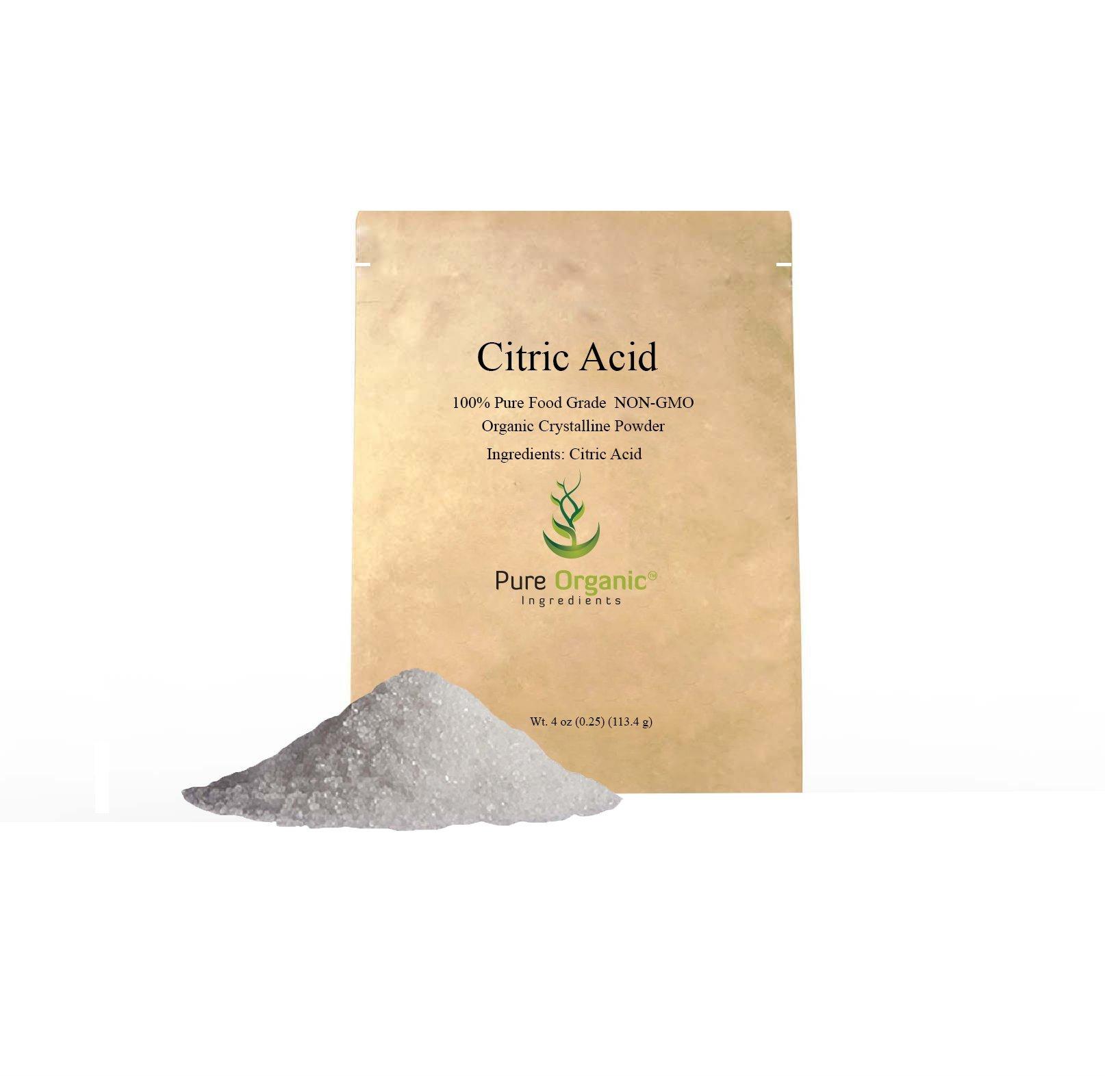 Pure Citric Acid (2 lb (32 oz) 100% Food grade powder (Also available in 4 oz, 11 oz, 1 lb, & 55 lb)