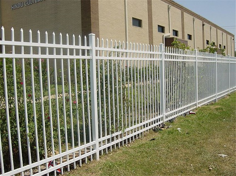 steel fence posts for wood postmaster installation best zinc black metal lowes