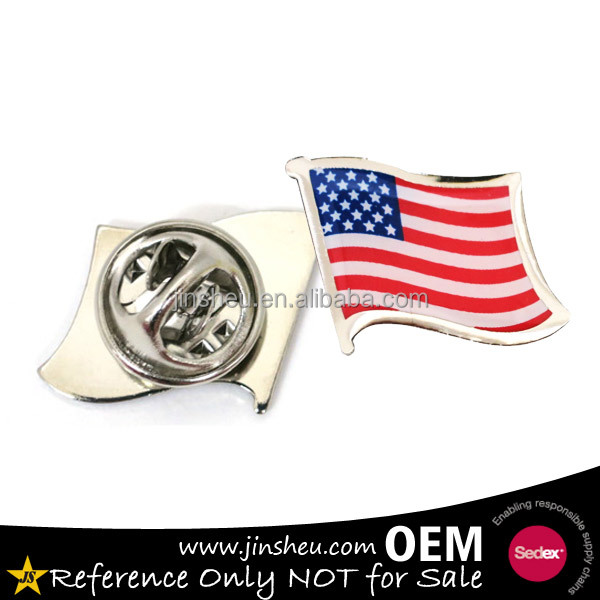 Arts,crafts & Sewing Steady Wholesale 300 Countries Flag Laple Pin Badge Flag Pin Badges In Mixed