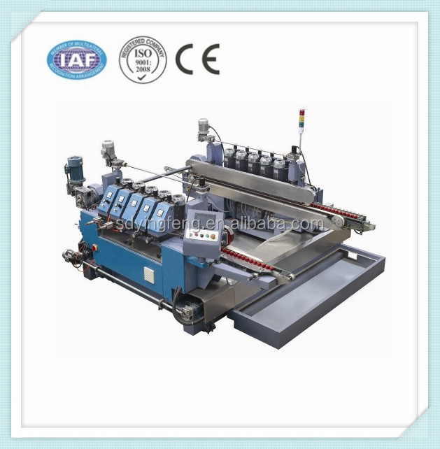 JFDR-12 round small double glass edging machine with CE