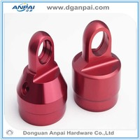 High Quality Anodized custom precision machining auto used cnc aluminium part
