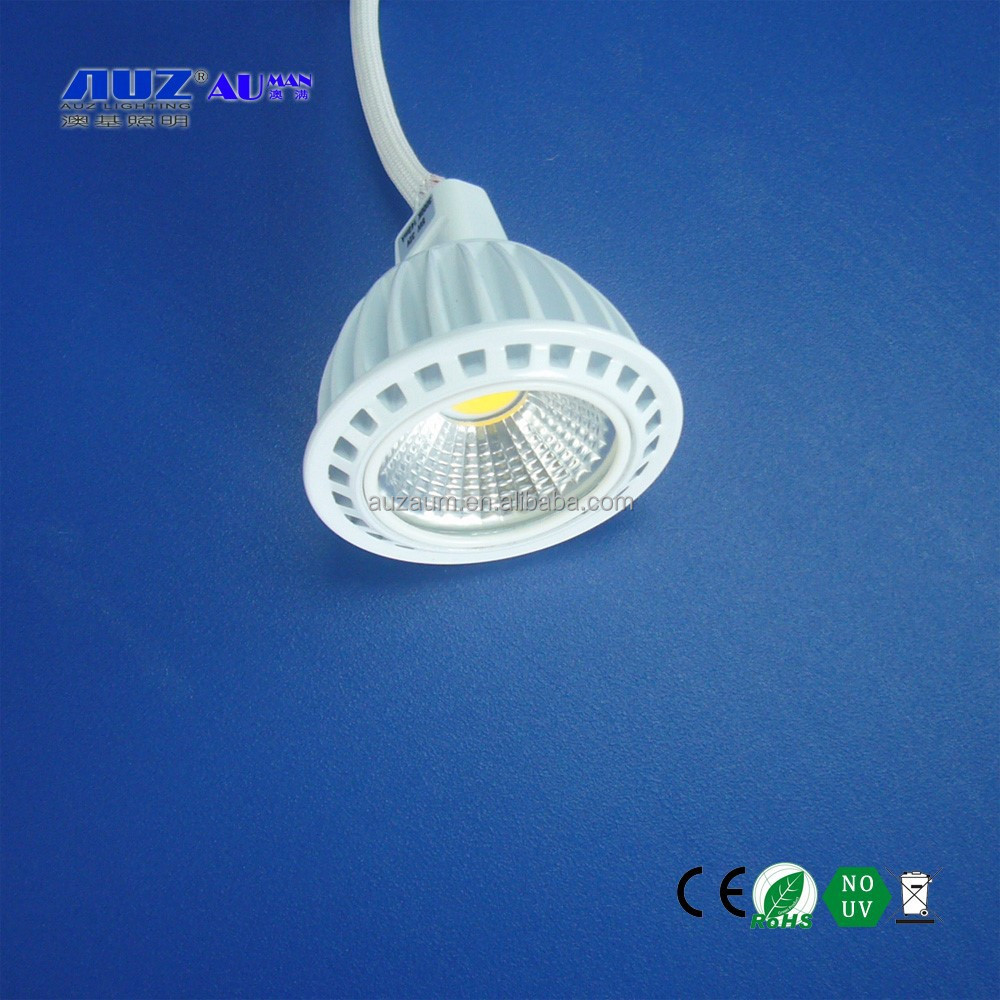 Hot sale High Power MR16 LED COB 5W blue red green yellow purple one piece Spotlight Lamp GU5.3