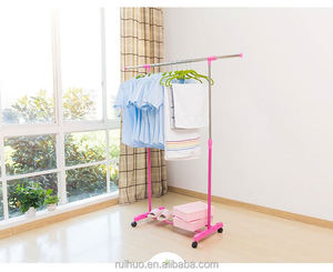 Hot selling ingenious building wall mounted clothes drying rack industrial hanger racks