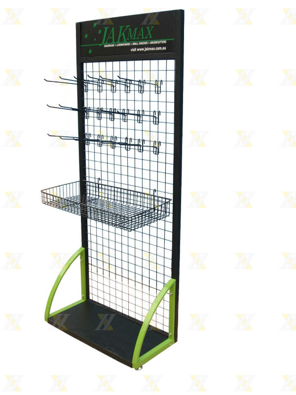 Wire Grid With Basket Tie Product Hair Band Display Stand - Buy Hair ...