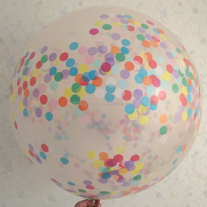 Hot sale factory direct price 36inch confetti latex balloon for party and wedding