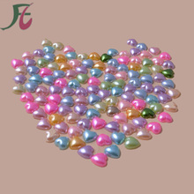 More Than 50colour Half Pearl Bead 4mm Flat Back Gem Scrapbook Craft /DIY nail art Compartment Plastic Box