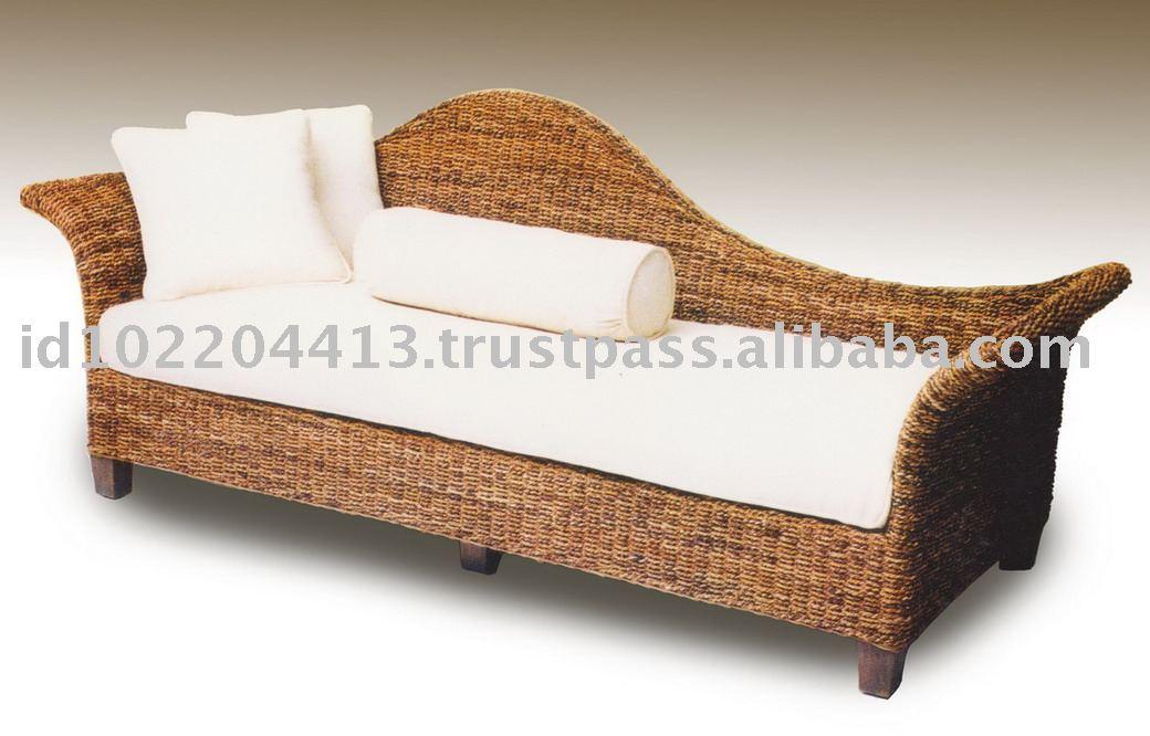 Delima Divan Rattan Sofa