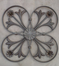handmade wrought iron component for iron gate/fenc/window grill