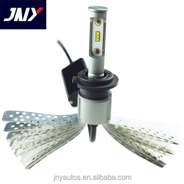 60W H7 5w led Car headlight h7 tail lamp high luminosity the best heat radiation c6 headlight