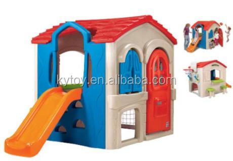 plstico al aire libre playhouse para nios