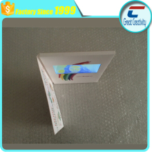 "custom printing paper 4.3"" TFT screen video player greeting card"