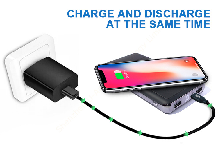 Type C Standing Portable Phone  Charging Fast Wireless Charger Stand PowerBank