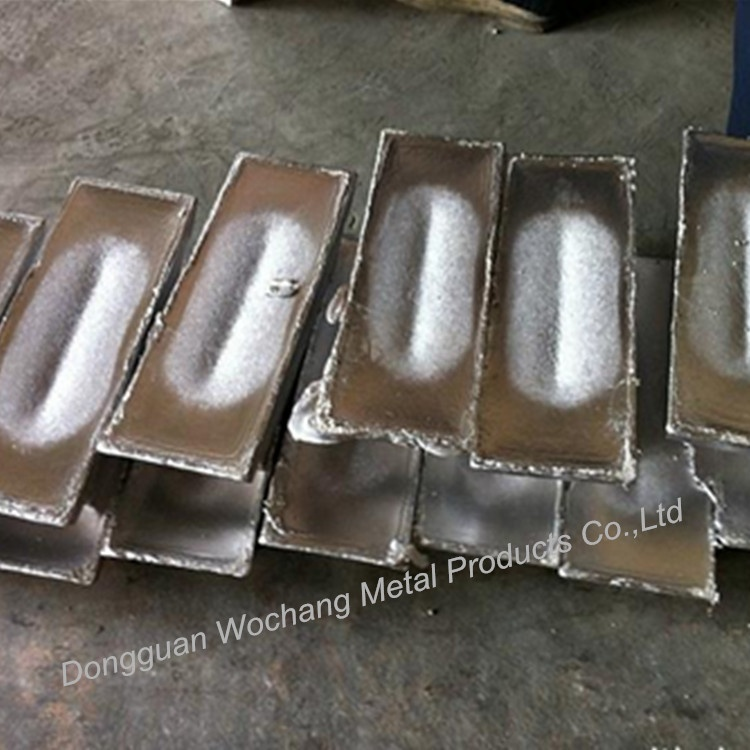Custom lead alloy ingot used for casting fishing sinker with wholesale price