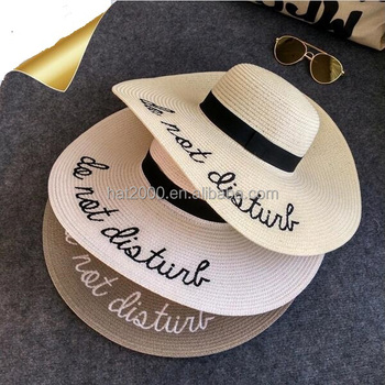 wholesale mexican imports fascinator floppy hats for weddings straw hat  with print logo b3517336dc8