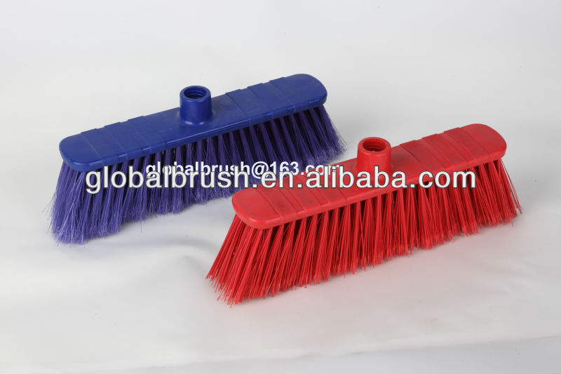 manufacture plastic soft broom strong sweeper vassoura balai ginestra #8838