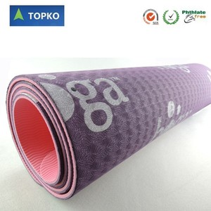New Product Eco Friendly Anti Slip Private Label High Density TPE Yoga Mat