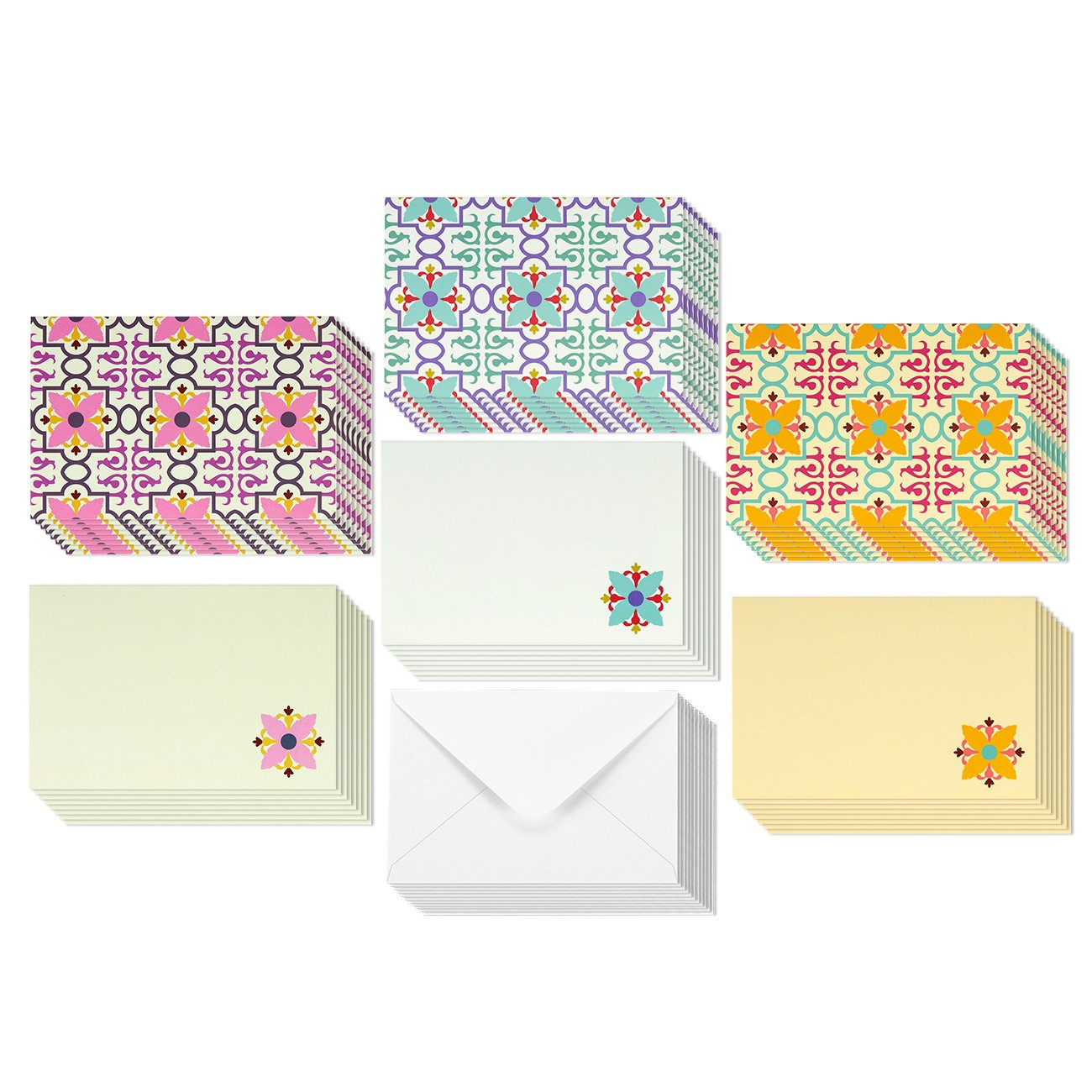 Cheap blank greeting card packs find blank greeting card packs get quotations 48 pack all occasion assorted blank vintage note cards for her greeting card bulk box set m4hsunfo