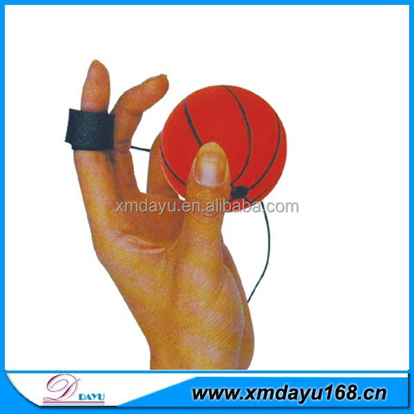 Promotional PU Foam Yoyo basketball,Yoyo stress ball