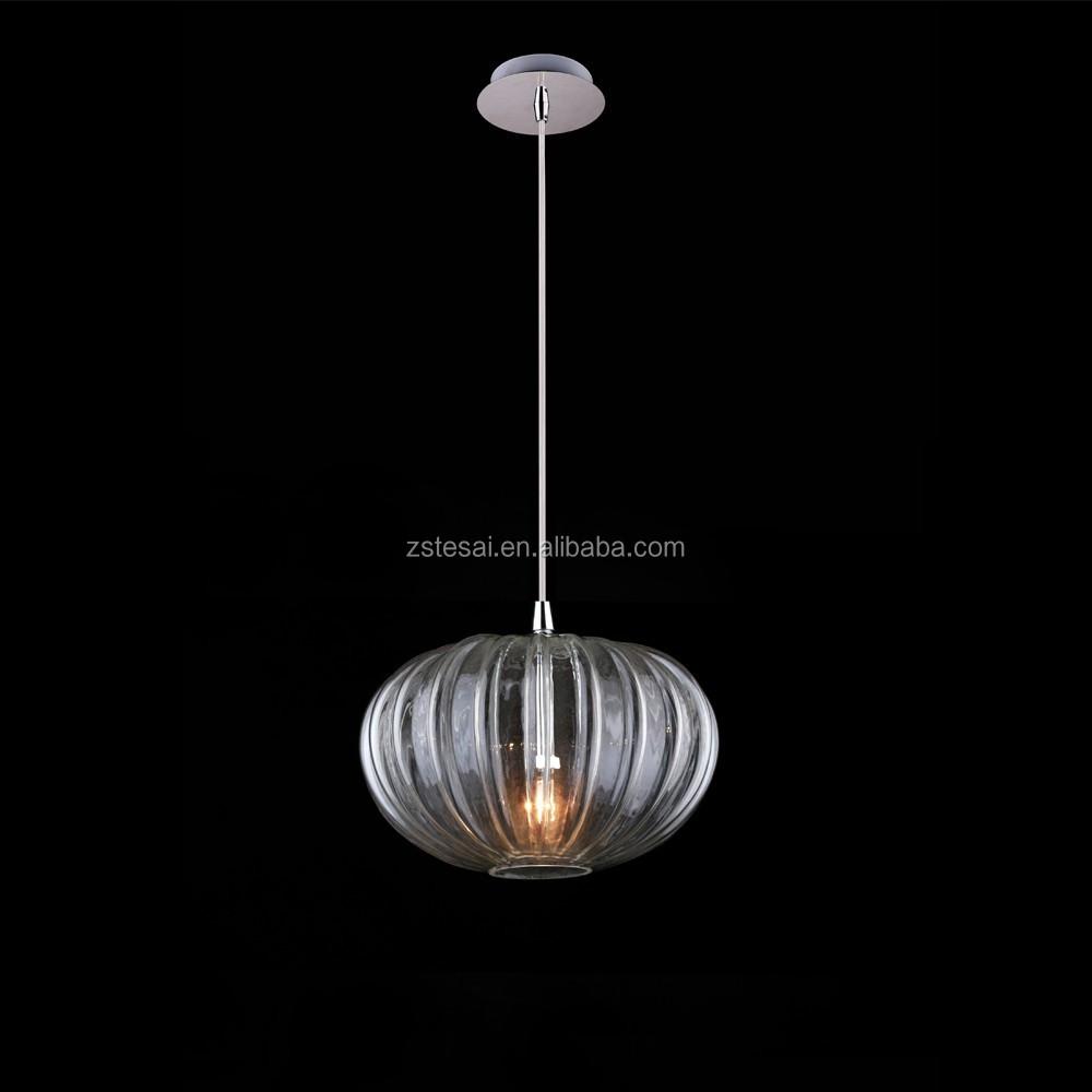 Verlichting voor glas sculptuur opknoping lampen moderne hanglampen bruiloft decoraties