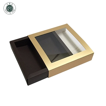 Food Packaging Craft Cardboard Paper Gift Boxes With Clear Lid Window Presentation Paper Box With Clear Pvc Lid Buy Food Packaging Gift Boxes With